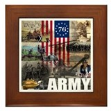 Memorial day Framed Tiles