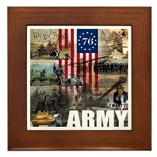 ARMY 1776 Framed Tile