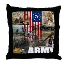 ARMY 1776 Throw Pillow