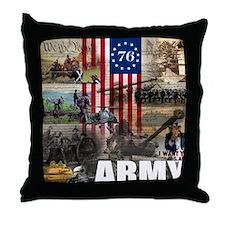 ARMY 1776 Throw Pillow