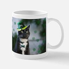 St. Patrick kitty Mugs