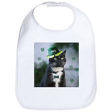 St. Patrick kitty Bib
