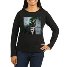 St. Patrick kitty Long Sleeve T-Shirt