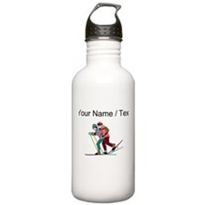 Custom Cross Country Skiers Water Bottle