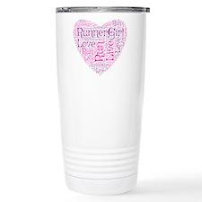 Runnergirl Heart Travel Mug