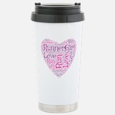 Runnergirl Heart Travel Mug