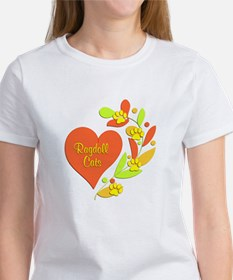 Ragdoll Heart Women's T-Shirt