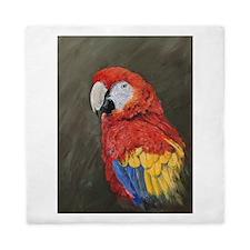 Scarlet Macaw Queen Duvet