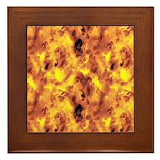 Raging Inferno Framed Tile