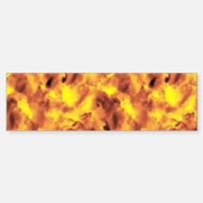Raging Inferno Bumper Bumper Sticker