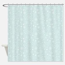 Anticipated Snow Shower Curtain
