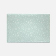 Anticipated Snow Rectangle Magnet (10 pack)