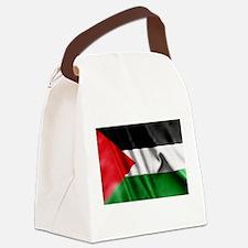 Palestine Flag Canvas Lunch Bag
