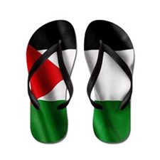 Palestine Flag Flip Flops