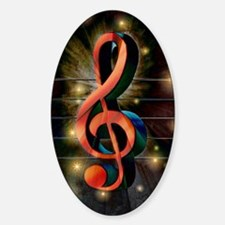 Clef Decal