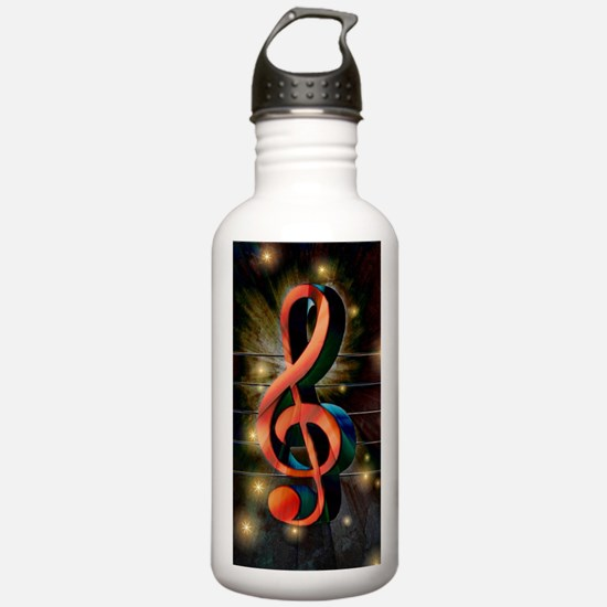 Clef Water Bottle