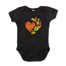 Egyptian Mau Heart Baby Bodysuit
