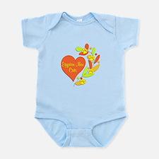 Egyptian Mau Heart Infant Bodysuit