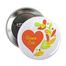 """Birman Heart 2.25"""" Button"""