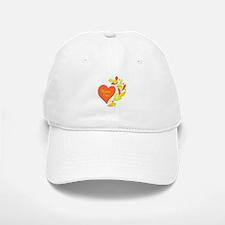 Birman Heart Baseball Baseball Cap