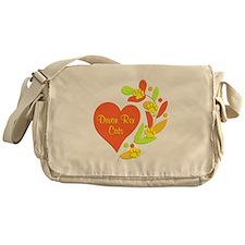 Devon Rex Heart Messenger Bag