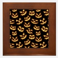 Creepy Smiles Framed Tile