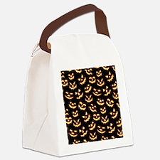 Creepy Smiles Canvas Lunch Bag
