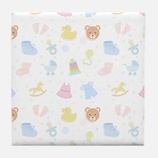 Baby Wish List Tile Coaster