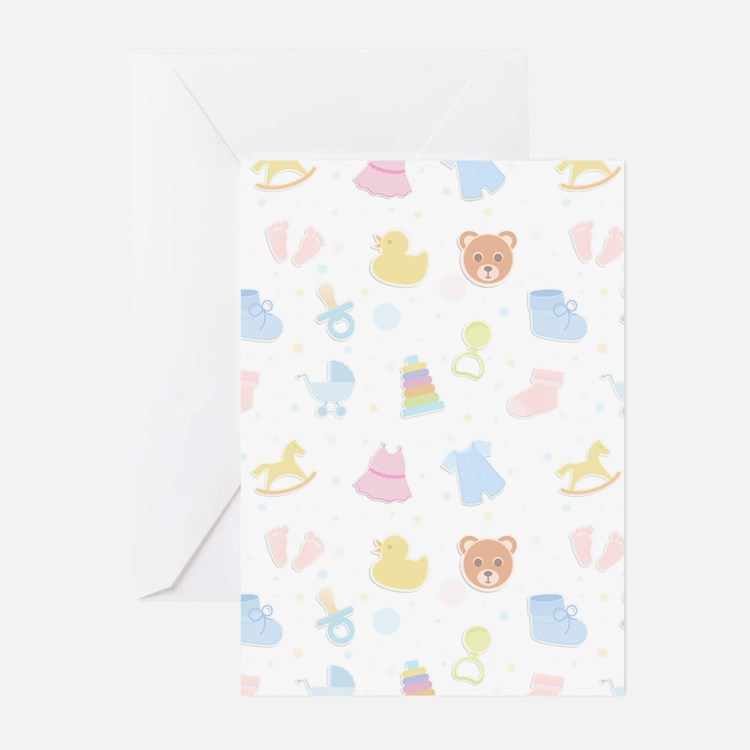 Baby Wish List Greeting Cards (Pk of 10)
