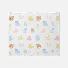 Baby Wish List Throw Blanket