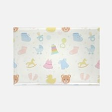 Baby Wish List Rectangle Magnet