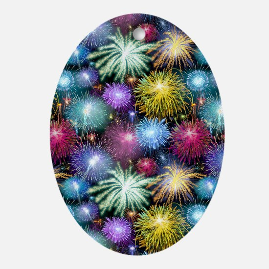 Celebrating Freedom Ornament (Oval)