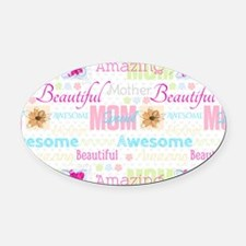 Mothers Day Oval Car Magnet