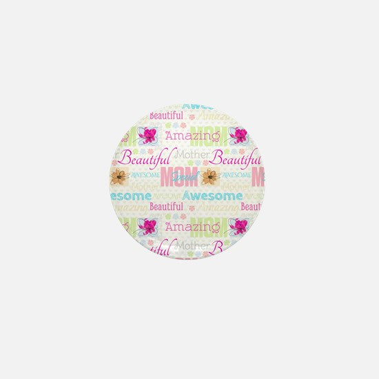 Mothers Day Mini Button