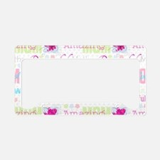 Mothers Day License Plate Holder