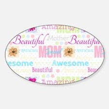 Mothers Day Sticker (Oval)