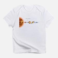 Pluto planet Infant T-Shirt
