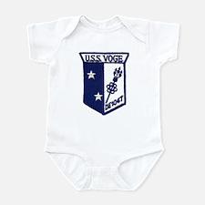 USS VOGE Infant Bodysuit