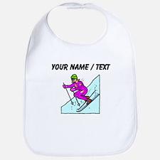 Custom Woman Skier Bib