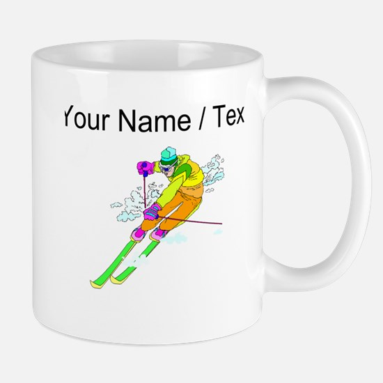 Custom Skier Mugs