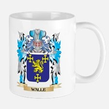 Walle Coat of Arms - Family Crest Mugs