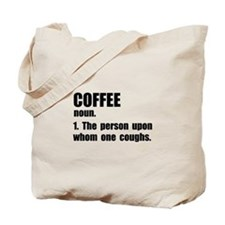 Coffee Definition Tote Bag