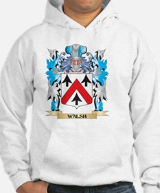 Walsh Coat of Arms - Family Cres Jumper Hoody