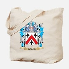 Walsh Coat of Arms - Family Crest Tote Bag