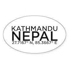 Kathmandu Decal
