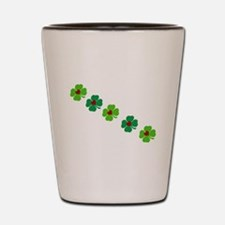 Lucky Irish Clover Shot Glass