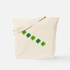 Lucky Irish Clover Tote Bag