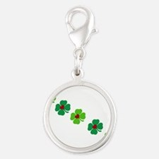 Lucky Irish Clover Charms