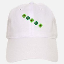 Lucky Irish Clover Baseball Baseball Cap
