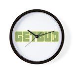Getbud.net - Bubble logo Wall Clock